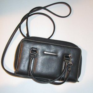Rosetti Black Clutch Shoulder Purse